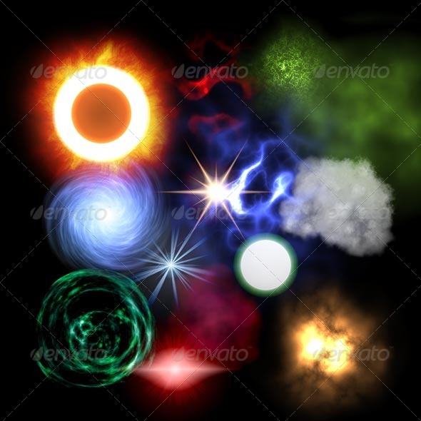 26 x Particle Textures Pack - 3DOcean Item for Sale
