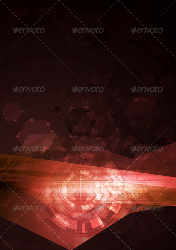 GraphicRiver Concept Abstract Hi-Tech Illustration 7095902