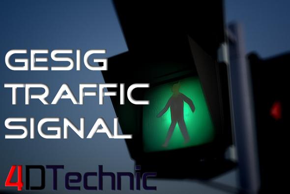 3DOcean Gesig Traffic Siganl 7096013