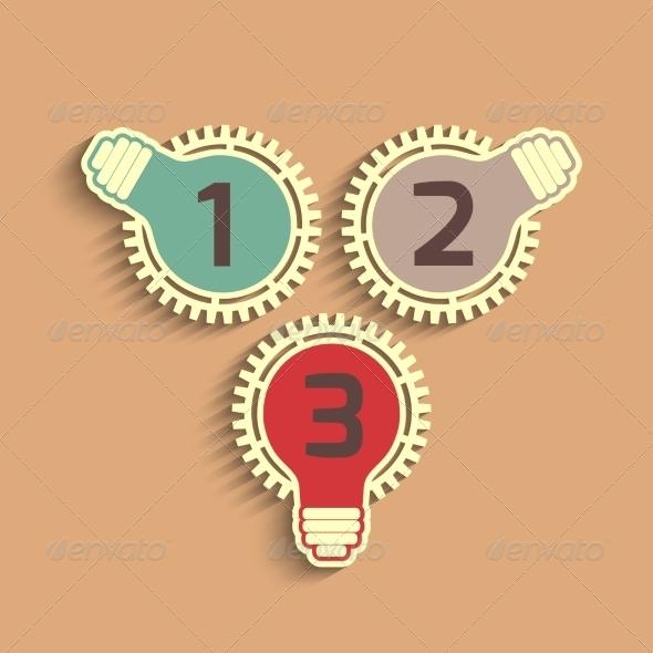 GraphicRiver Light Bulbs 7096623