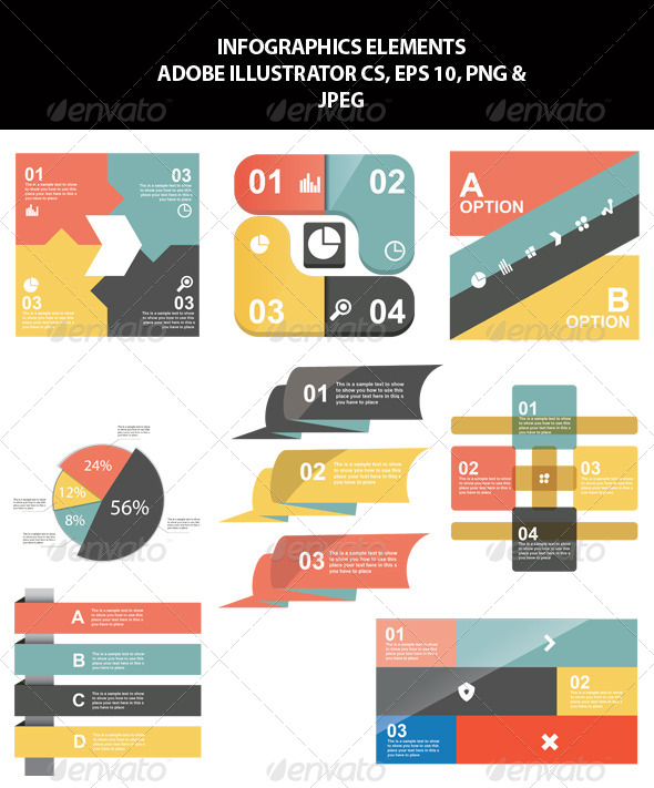 GraphicRiver Infographics Elements 7097331