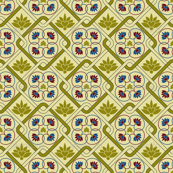 GraphicRiver Seamless Pattern 7097967