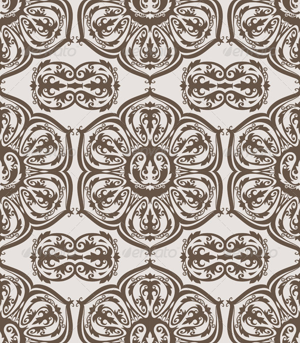 GraphicRiver Seamless Floral Vintage Pattern 7097992