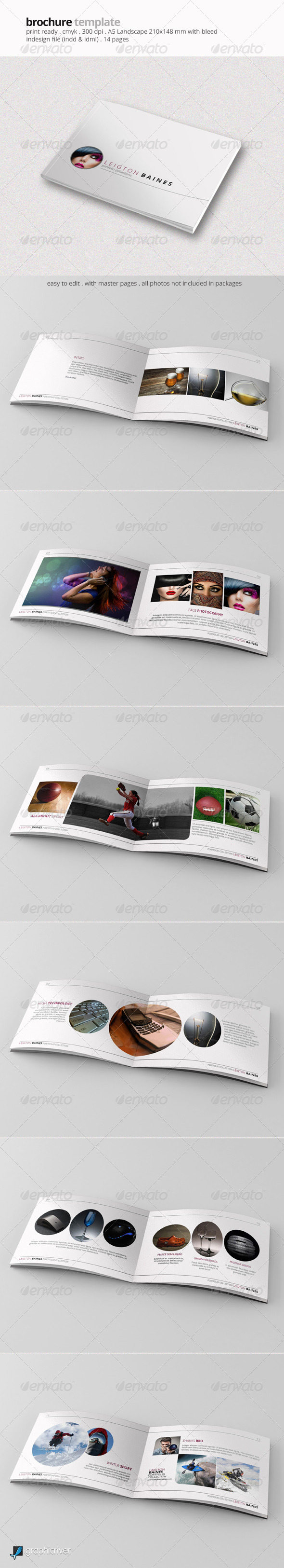 GraphicRiver A5 Brochure Template 7098814