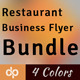 Restaurant Business Flyer Bundle | Volume 5 - GraphicRiver Item for Sale