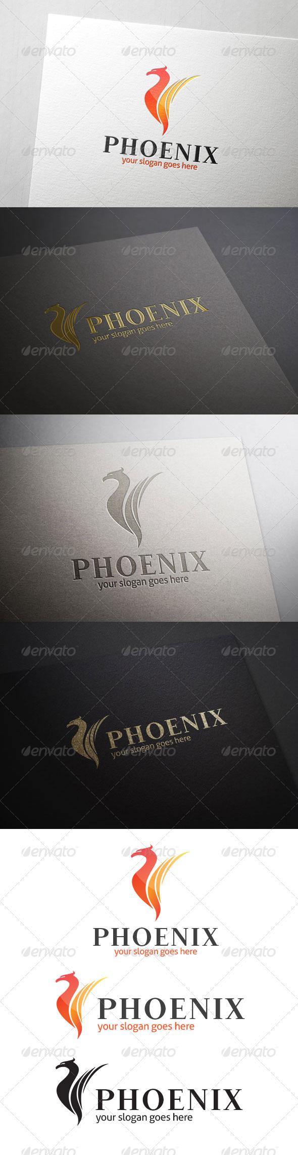 GraphicRiver Fire Bird Logo 7099006