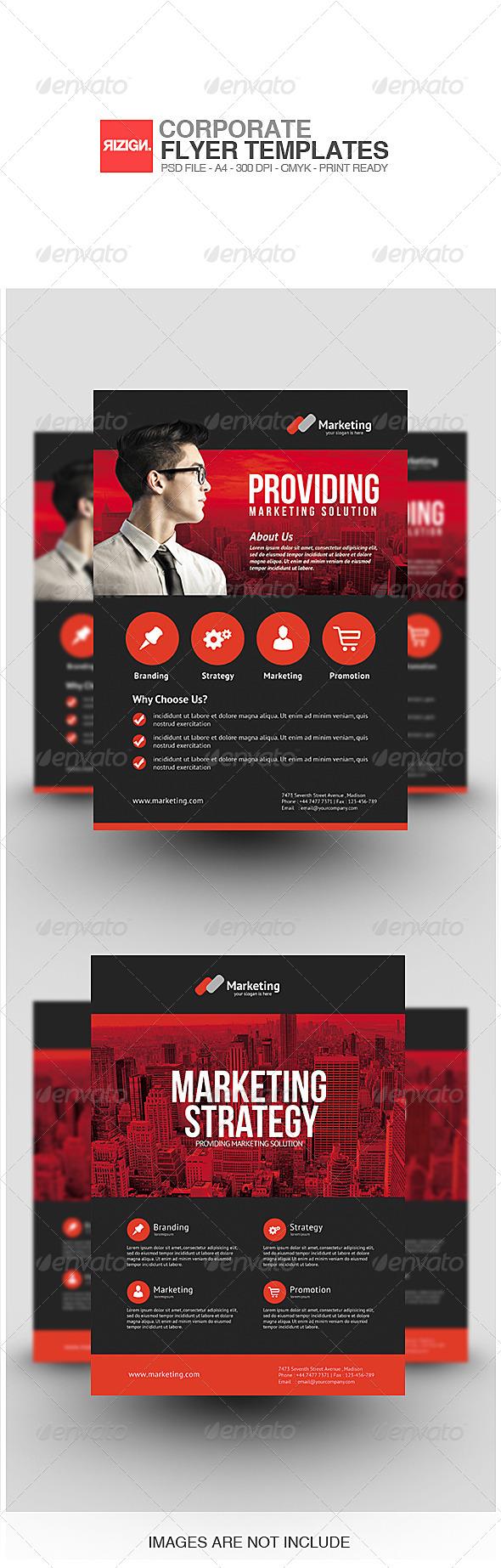 GraphicRiver Corporate Flyer 7099203
