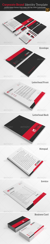 GraphicRiver Corporate Brand Identity Template 7099287
