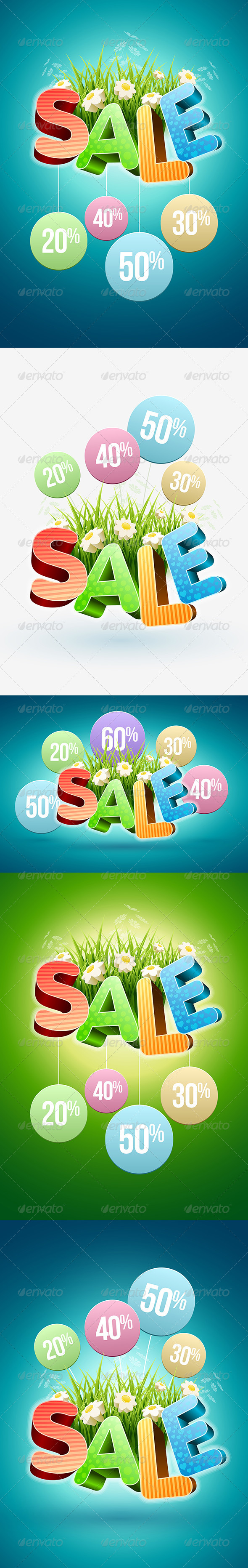 GraphicRiver Spring and Summer Sale Poster 7100532