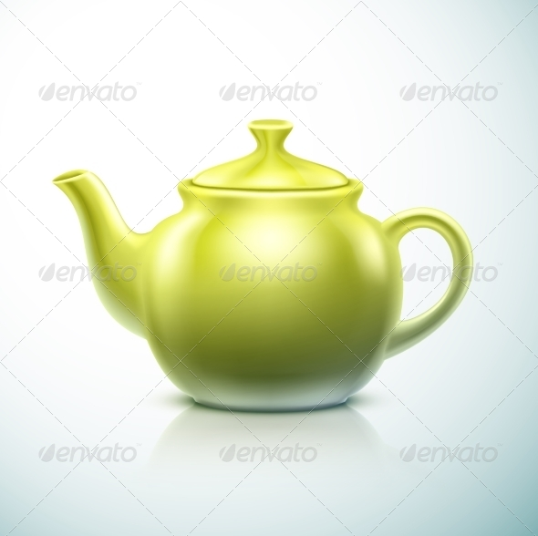 GraphicRiver Isolated Teapot 7101811