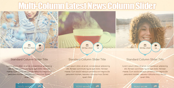 CodeCanyon Multi Column Latest News Infinite Slider 7101890