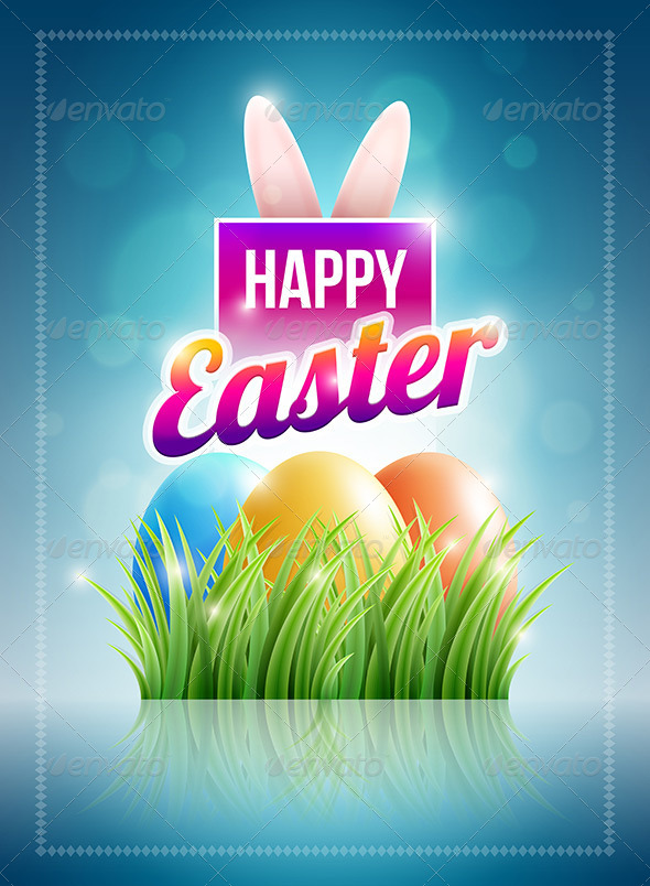 GraphicRiver Easter Poster Design 7101965