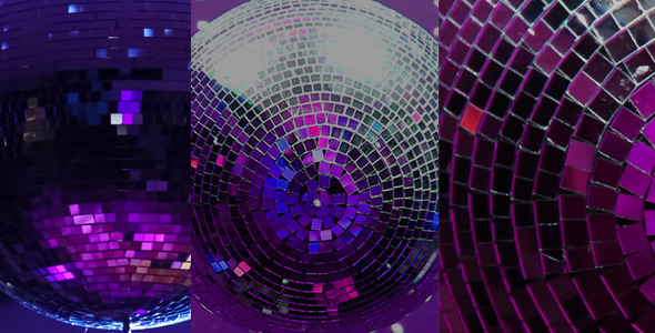 Disco Ball Video Pack