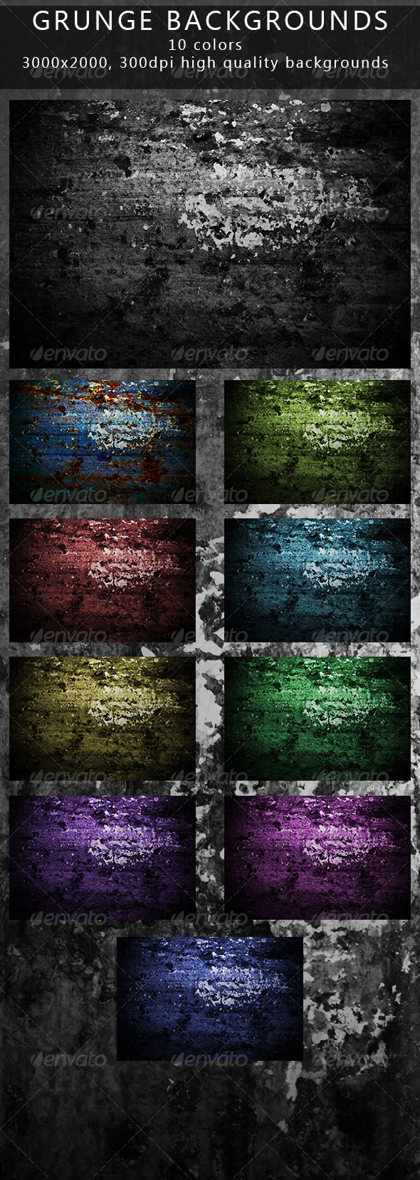 GraphicRiver Grunge Backgrounds 7102134