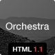 Orchestra - Responsive HTML template - ThemeForest Item for Sale