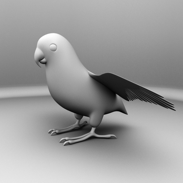 3DOcean Parrot Bird 7102326