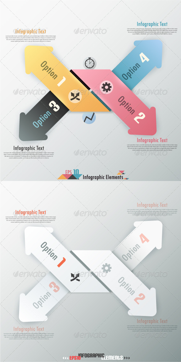 GraphicRiver Modern Infographic Options Banner With Arrows 7102534