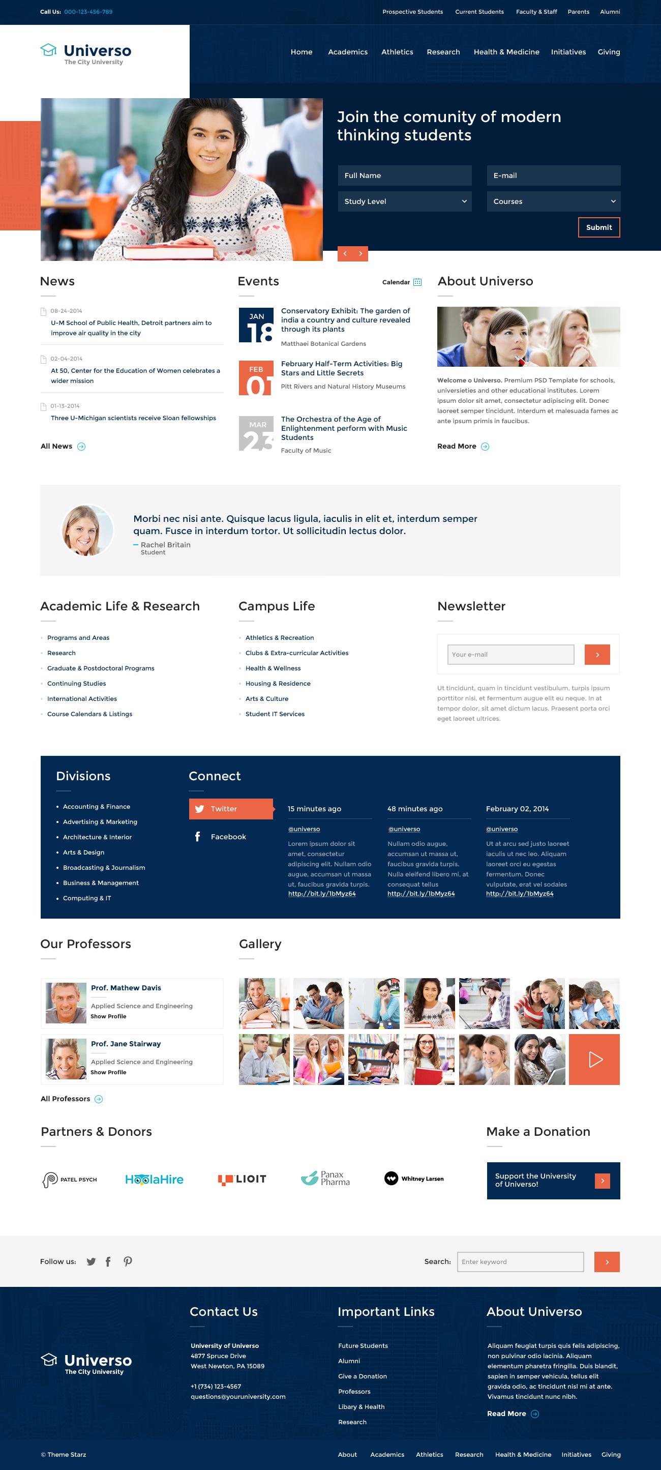 Thiết kế website trường trung học