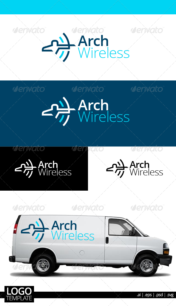 GraphicRiver Arch Wireless 7017814