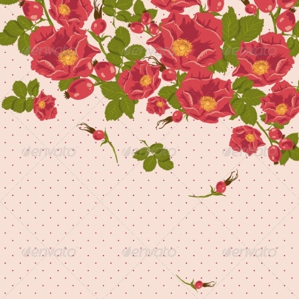 GraphicRiver Floral Background 7103151