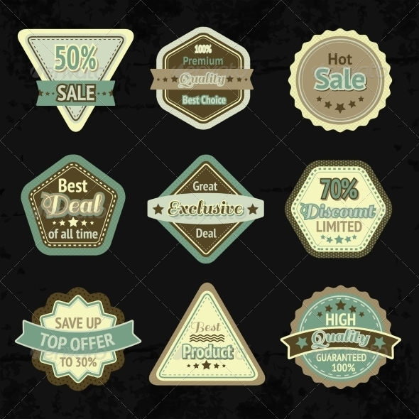 GraphicRiver Labels 7103158