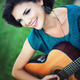 Girl playing guitar - PhotoDune Item for Sale