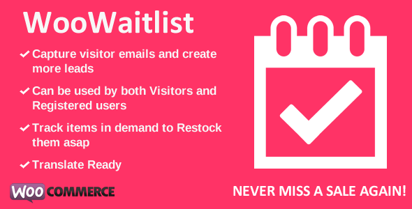 CodeCanyon WooCommerce Waitlist 7103373