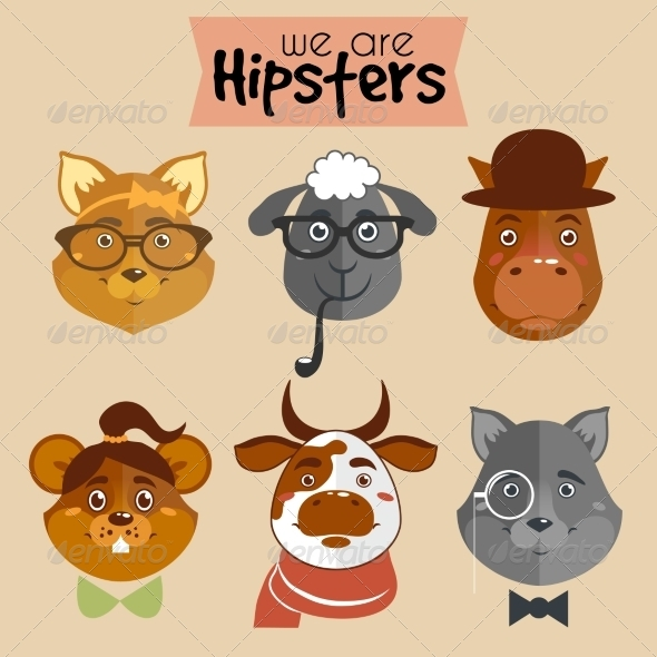 GraphicRiver Animals Collection 7103386