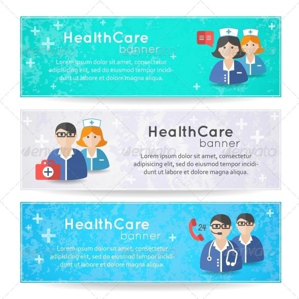 GraphicRiver Medicine Banners 7103433