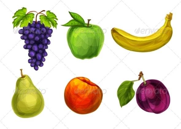 GraphicRiver Fruits 7103513