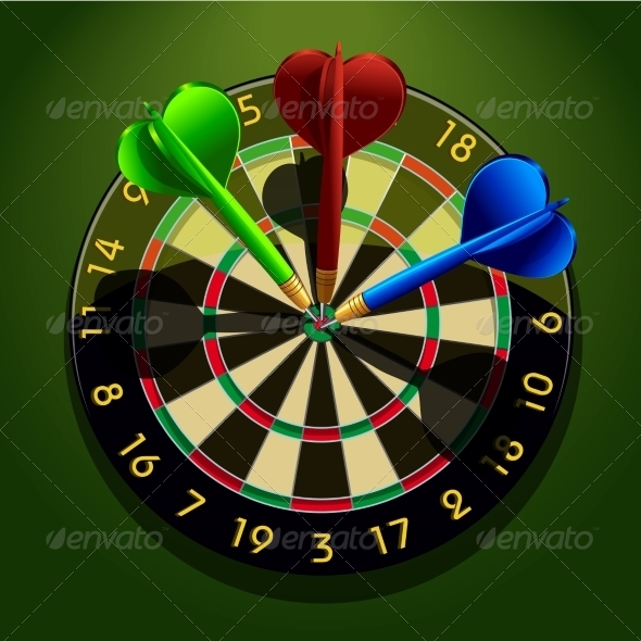 GraphicRiver Darts 7103514