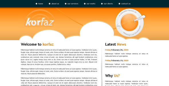 ThemeForest Korfaz 30267