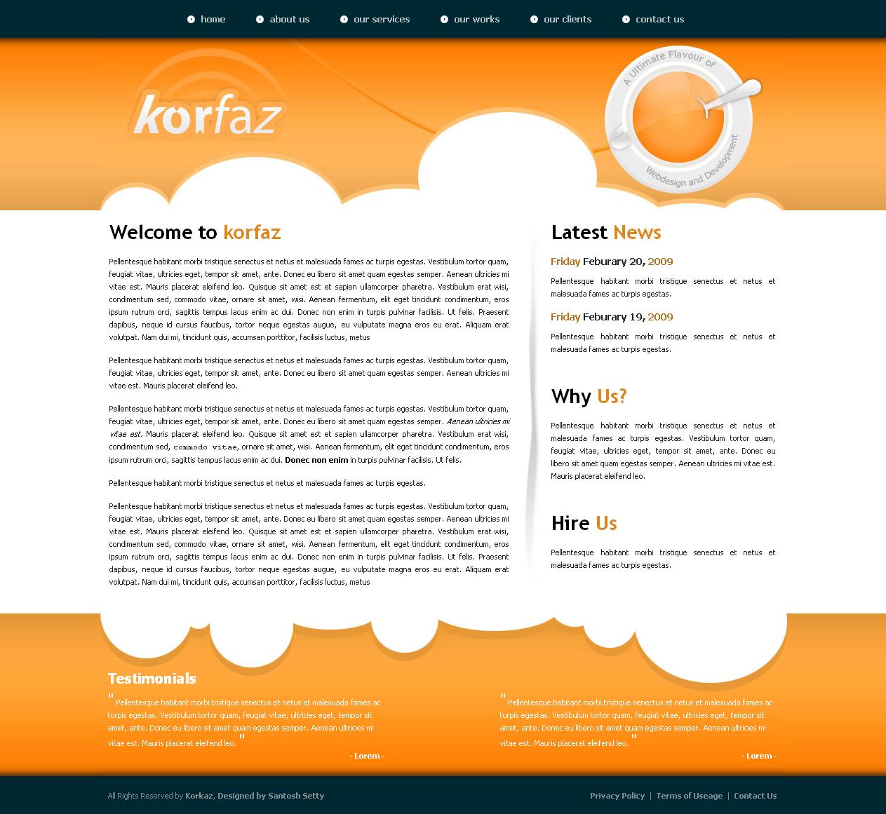 Korfaz  - Home Page of Korfaz
