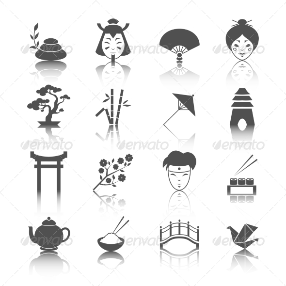 Japanese Culture Icons...