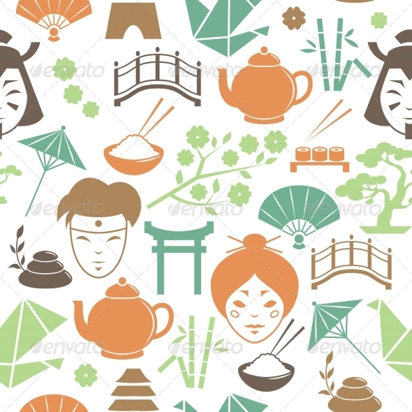 GraphicRiver Japanese Pattern 7103552