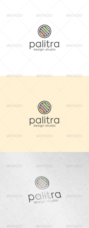 GraphicRiver Palitra Logo 7103736