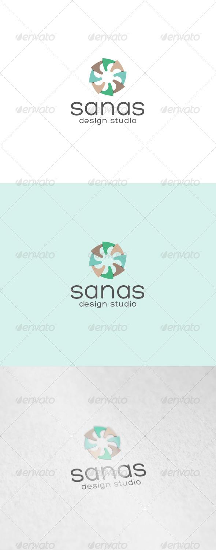 GraphicRiver Sanas Logo 7103746