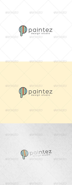 GraphicRiver Paintez Logo 7103770