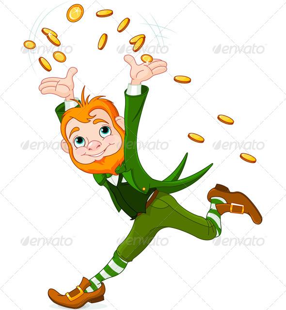GraphicRiver Running Leprechaun 7104407