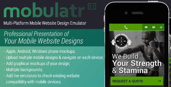 Mobulatr Mobile Design Emulator