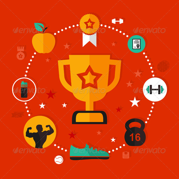 GraphicRiver Award Sports 7105191