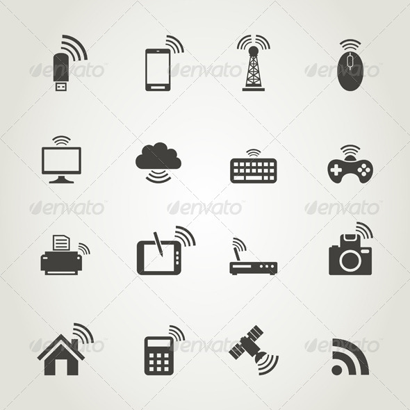 GraphicRiver Icon Communication 7105369