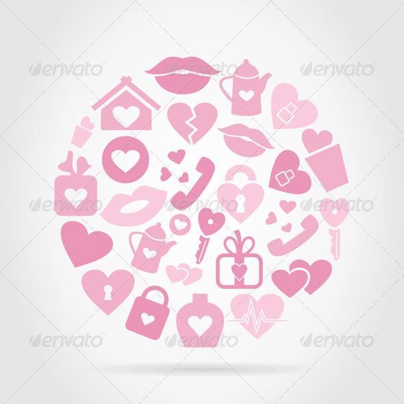 GraphicRiver Love Sphere 7105570