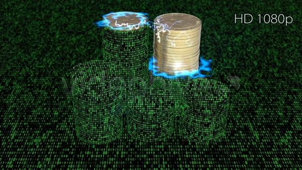 Bitcoins Binary Codes