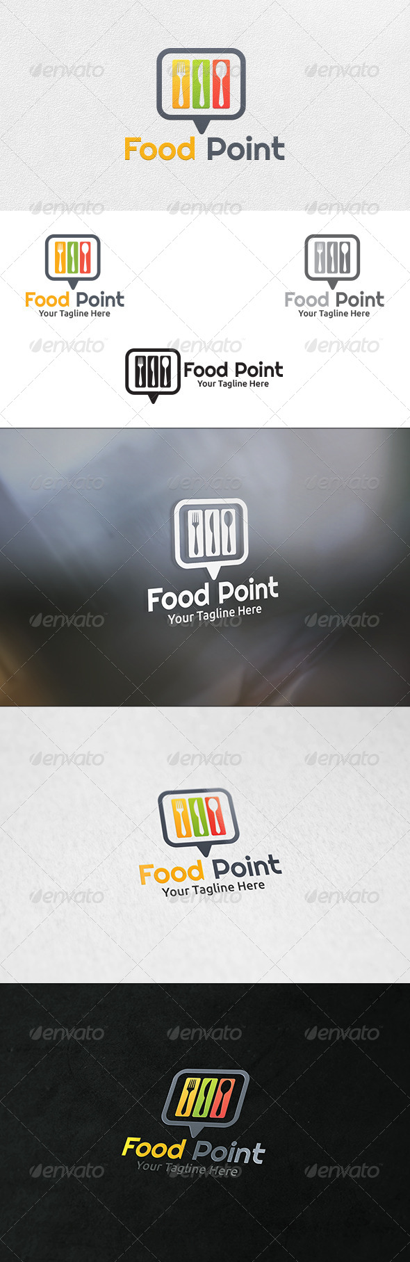 Food Point - Logo Template
