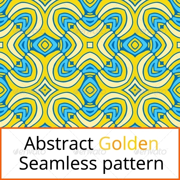 GraphicRiver Abstract Seamless Golden Pattern 7108178