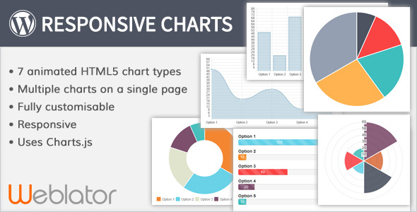 Responsive Charts - CodeCanyon Item for Sale