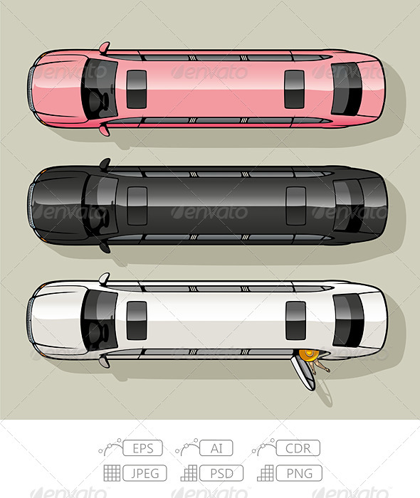 GraphicRiver Limo Set 7111171
