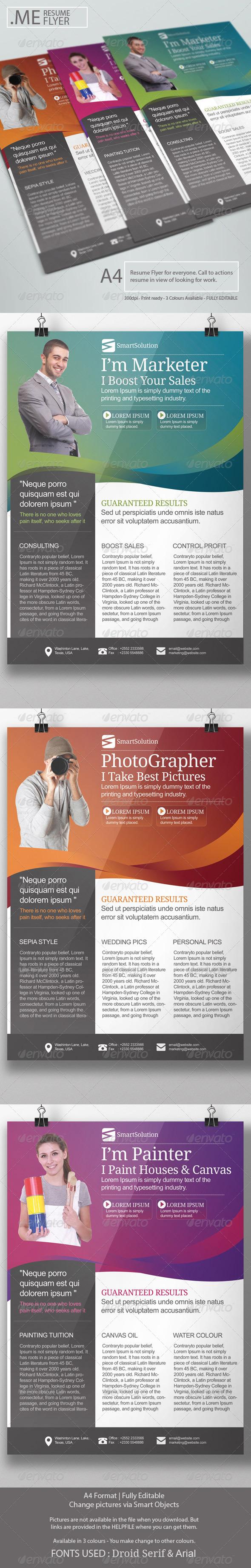 GraphicRiver Job Resume 7111268