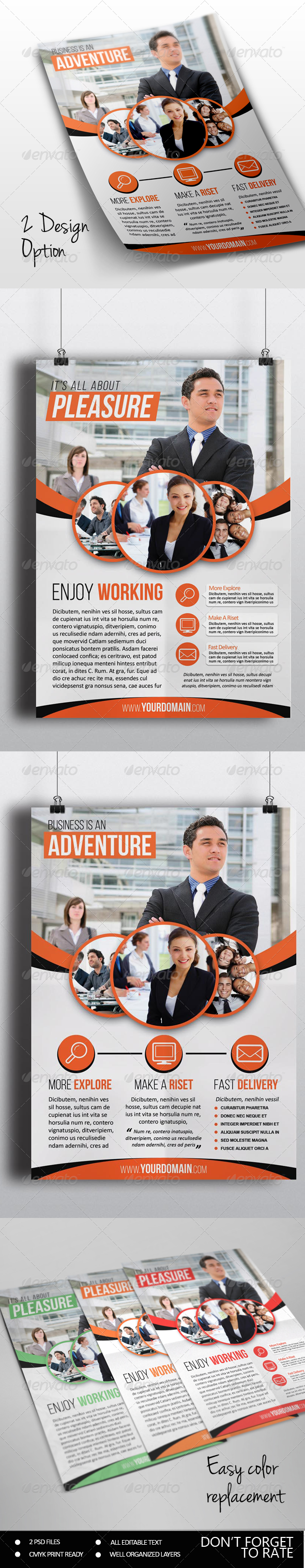 GraphicRiver Korporat Multipurpose Flyer Template 7111800